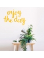Vinilo 'Enjoy the day'. Adhesivo decoración