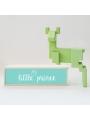 Caja de luz 'Little Prince'. Lámpara madera 'Little Prince'