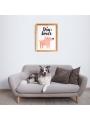 Lámina decorativa 'Dogs Lover'
