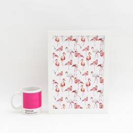 Lámina decorativa 'Flamingo'