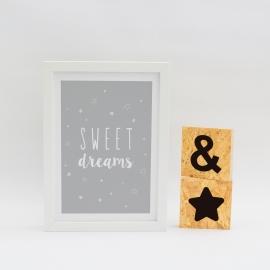 Lámina decorativa 'Sweet Dreams'