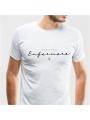 """Camiseta Enfermero/Enfermera """"No todos los héroes llevan capa"""""""