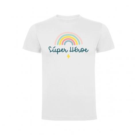 """Camiseta Súper Héroe/Heroína """"Arcoiris"""""""
