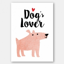 Lámina decorativa 'Dogs'