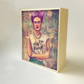 "Caja de luz diseño ""Frida"""