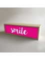 "Caja de luz ""Smile"""