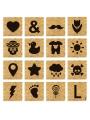 Ficha Scrabble personalizada
